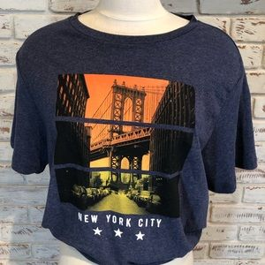 New York City Graphic Tee Old Navy Soft-washed